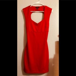 Little Red Forever21 Dress - Size Large
